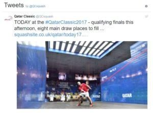 Qatar Classic on Social Media