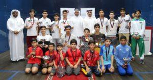 Qatar & Doha Junior Squash Open 2017 Concludes