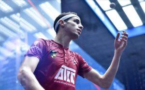 Farag to begin Title Defence against Kandra at PSA Men's World Championship in Doha