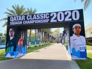 Khalifa International Tennis & Squash Complex wears new look ahead of Qatar Classic 2020